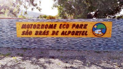 Wohnmobilstellplatz Sao Bras de Alportel an der Algarveküste in Portugal